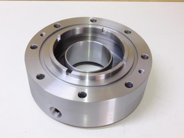 大型旋盤+溶接 SS400 φ450×200